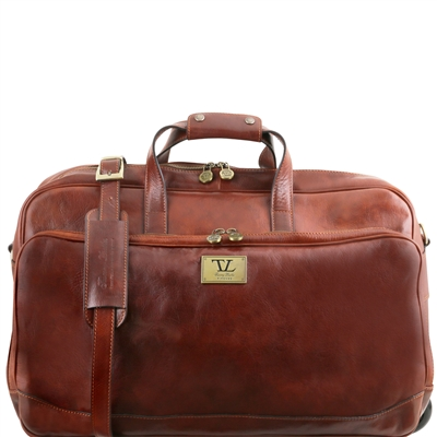 Tuscany Leather TL141453 Samoa Trolley Bag - Large