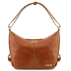 TL141479 Tuscany Leather Sabrina Leather Hobo Bag - Honey