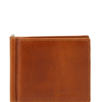 Tuscany Leather TL141501 Men's Exclusive leather Wallet With Money Clip - Honey