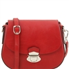Tuscany Leather TL141517 Neoclassic Red Shoulder Bag | Women | Australia | Shop