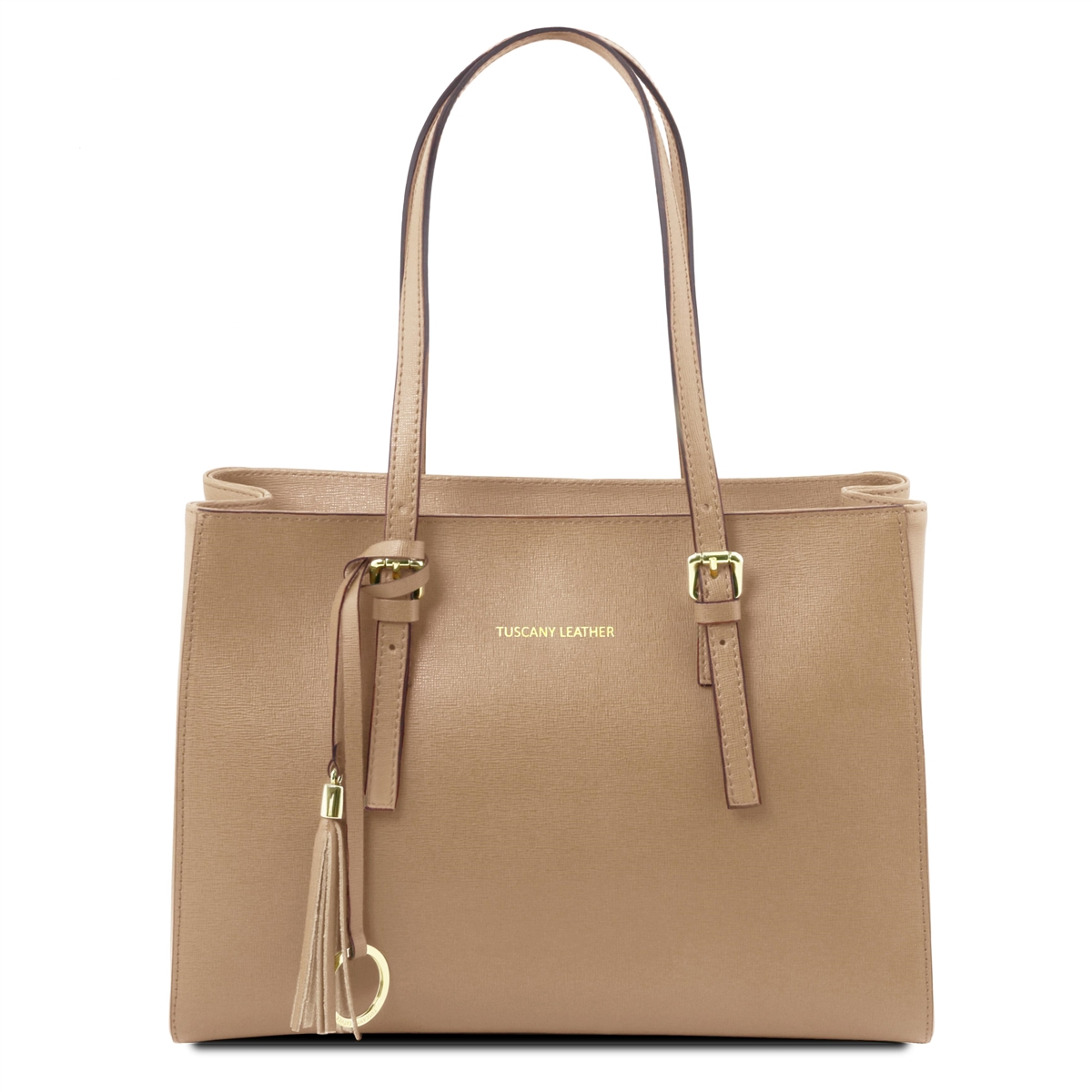 Handbag Leather Tl Caramel Saffiano Tl141518 xIwtERqR