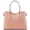 Tuscany Leather TL141521 Olimpia Handbag - Small - Nude