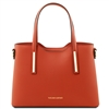 Tuscany Leather TL141521 Olimpia Handbag - Small - Brandy | Handbags Australia