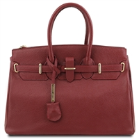 TL Leather Red Handbag  | Genuine Leather Handbags | Australia