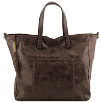 TL141552 Tuscany Leather Annie TL Smart Shopper - Dark Brown