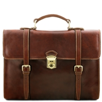 Tuscany Leather TL141558 Viareggio Laptop Case | Australia