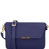Tuscany Leather TL141584 Ruga Leather Bag Blue