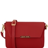 Tuscany Leather TL141584 Ruga Leather Bag Red