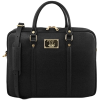 TL141626 Prato Saffiano Laptop Bag