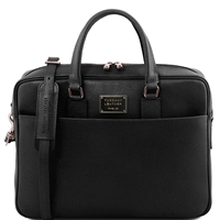 Tuscany Leather TL141627 Urbino Saffiano Laptop Bag