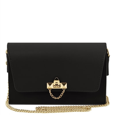 TL141653 Ruga Leather Bag - Black