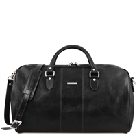 Tuscany Leather TL141657 Lisbona Leather Duffel Bag - Large