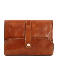 Tuscany Leather TL141716 Travel Nécessaire - Honey