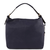 Tuscany Leather Bag TL141719 Soft Leather Hobo Bag - Blue