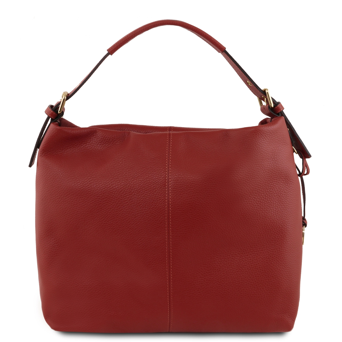 5c727a27183c Tuscany Leather Bag TL141719 Soft Leather Hobo Bag - Red