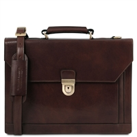 TL141732 Cremona Leather Briefcase | Men's | Tuscany Leather | Australia