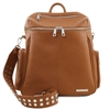 TL141747 Leather Backpack for Women - Cognac | Shop Australia