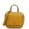 Dalia Black Mini Bag - Mustard by Tuscany Leather | Handbags Australia