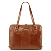 Tuscany Leather TL141795 Ravenna Laptop Bag for Women