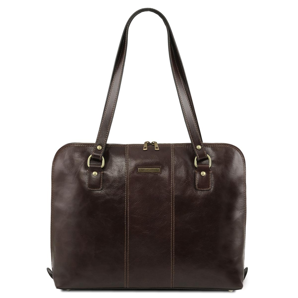 Tl141795 Ravenna Leather Laptop Bag