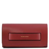 TL141816 Sophia Red Leather Clutch Bag | Women's | Bags | Australua