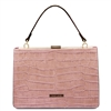 Iris Nude Leather Handbag by Tuscany Leather Australia