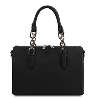 Narcisco Handbag - Black by Tuscany Leather | Women's | Handbags Australia