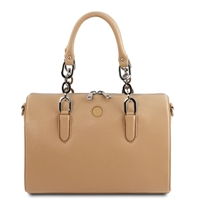 Narcisco Handbag - Champagne by Tuscany Leather | Women's | Handbags Australia