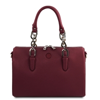 Narcisco Handbag - Bordeaux by Tuscany Leather | Women's | Handbags Australia