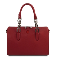 Narcisco Handbag - Red by Tuscany Leather | Women's | Handbags Australia