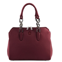 Lilia Handbag - Bordeaux by Tuscany Leather | Women's | Handbags Australia