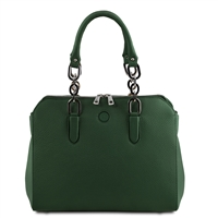 Lilia Handbag - Forest Green by Tuscany Leather | Women's | Handbags Australia