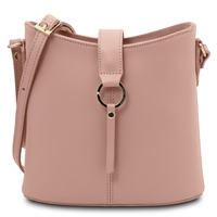 Tuscany Leather TL141598 Teti Pink Leather Shoulder Bag | Women's | Bags Australia