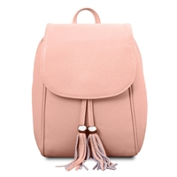 TL141905 Soft Leather Backpack - Pink | Women's Backpacks Australia