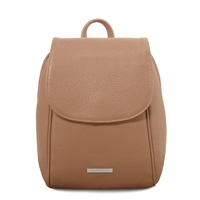 TL141905 Soft Leather Backpack - Taupe | Women's Backpacks Australia