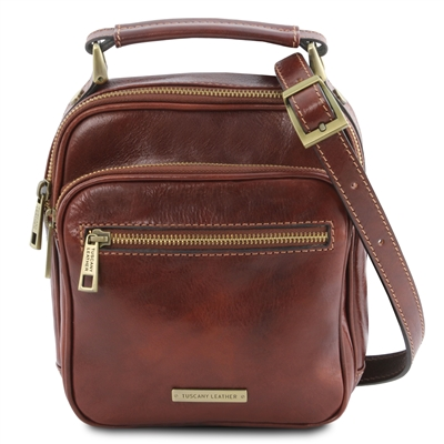 Tuscany Leather TL141916 Paul Crossbody Bag for Men | Man Bags | Australia