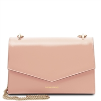 Fortuna Clutch Shoulder Bag - Pink | Women's Bags | Genuine Italian Leather
