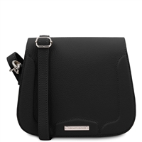 Jasmine Shoulder Bag - Black | Genuine Leather Bags | Australia