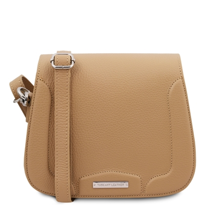 Jasmine Shoulder Bag - Champagne | Genuine Leather Bags | Australia