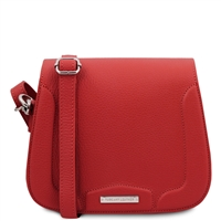 Jasmine Shoulder Bag - Red | Genuine Leather Bags | Australia