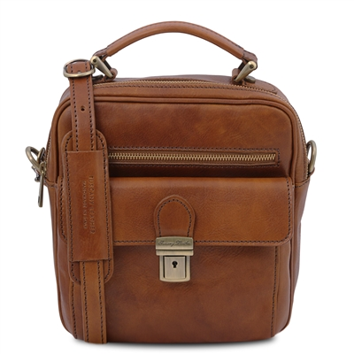 Tuscany Leather TL141916 Brian Shoulder Bag for Men | Man Bags | Australia