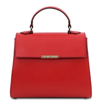 TL Red Leather Duffel Bag | Women's | Genuine Leather Handbags | Australia