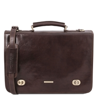 Tuscany Leather TL10054 Siena Messenger Bag