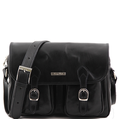 Tuscany Leather TL10180 San Marino-  Black