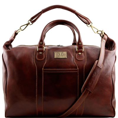 Tuscany Leather Amsterdam TL1049 Travel leather weekender bag
