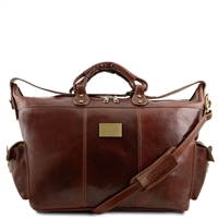 Tuscany Leather Porto TL140938 Travel leather weekender bag