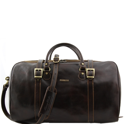 Tuscany Leather Berlin TL1013 Large Leather Travel duffel bag | Melbourne