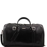 Tuscany Leather Berlin TL1013 Travel leather duffle bag - Large size