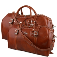 Tuscany Leather Berlin TL10175 Leather travel set