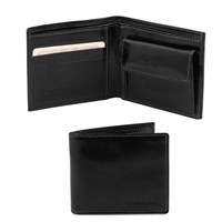 Tuscany Leather TL140761 Leather Wallet for Men - Black
